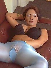 hot pantyhose sex action