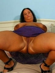 Big breasted mama going wild