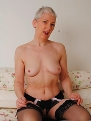 my hair may be grey, my mature pussy is still nice and tight