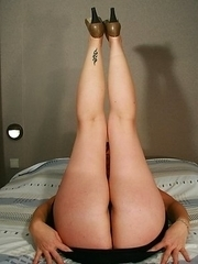 housewife playing with herself while her husband is away